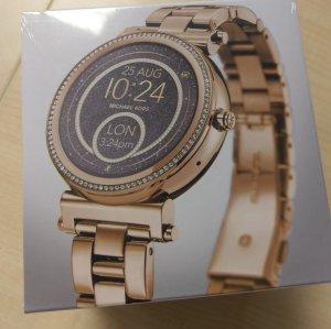 Michael Kors MKT5021 Sophie Smartwatch gold Kristall neu Damenuhr Armbanduhr
