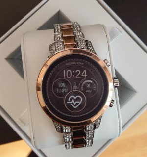 Michael Kors Digital Watch silver-colored-rose-gold-coloured