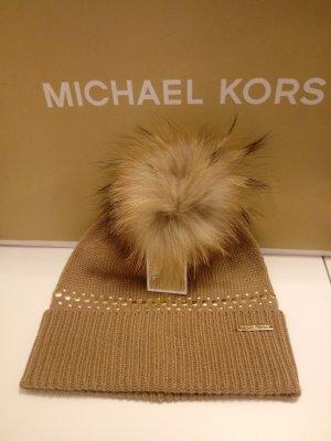 Michael Kors Casquette doré-cognac
