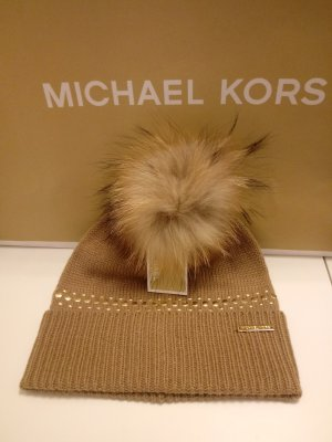 Michael Kors Gorra color oro-coñac