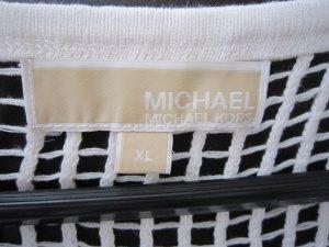 Michael Kors Netz Shirt, weiss, XL