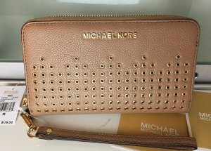 Michael Kors Wallet nude-beige leather