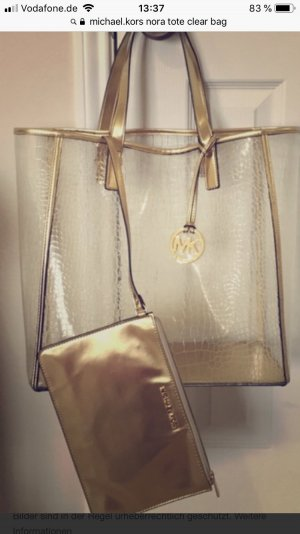 Michael Kors Carry Bag gold-colored-white