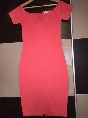 Michael Kors Off-The-Shoulder Dress red