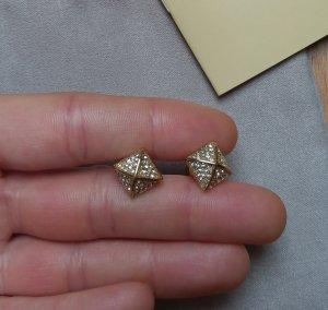 Michael Kors Ohhringe ohrstecker gold kristall