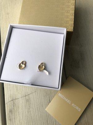 Michael Kors Ohrringe mit einem Herz Glitzer neu mit Box
