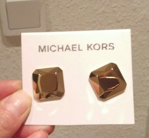 michael kors ohrringe ohrstecker gold neu