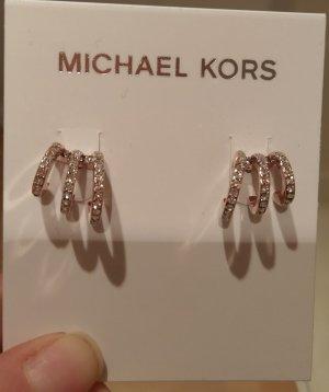 Michael kors ohrringe ohrstecker neu rosė kristall