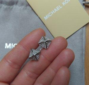 Michael kors ohrringe ohrstecker silber kristall