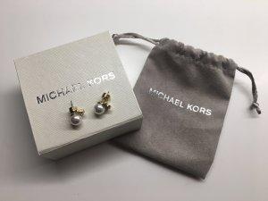 Michael Kors Orecchino oro-bianco sporco