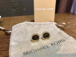Michael Kors Ohrstecker Ohrringe Gold glitzersteine Steine Silber original mk