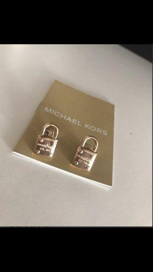 Michael Kors Ohrstecker Schloss Gold