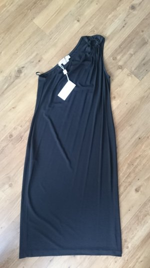 Michael Kors One Shoulder Dress black mixture fibre
