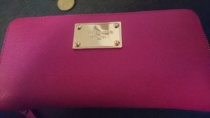 Michael Kors Portefeuille magenta-rose cuir