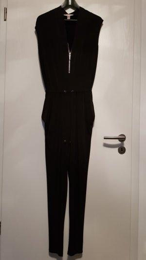 Michael Kors Overall Kumpsuit in Schwarz mit Reißverschluss