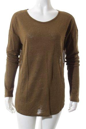 Michael Kors Oversized Shirt olivgrün schlichter Stil