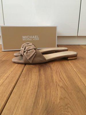 "Michael Kors - Pantolette ""Willa"" aus Wildleder"