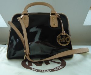 Michael Kors patent leather Satchel NEU