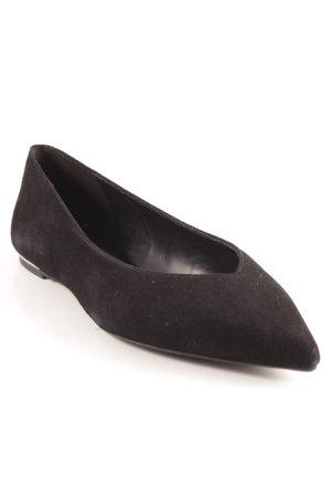 Michael Kors Peep Toe Ballerinas black casual look