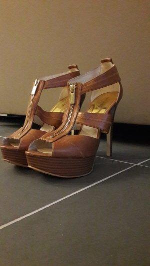 Michael Kors Platform Sandals multicolored leather