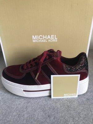 Michael Kors Plateau Sneaker Velvet