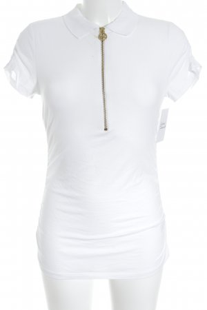 Michael Kors Polo-Shirt weiß Casual-Look