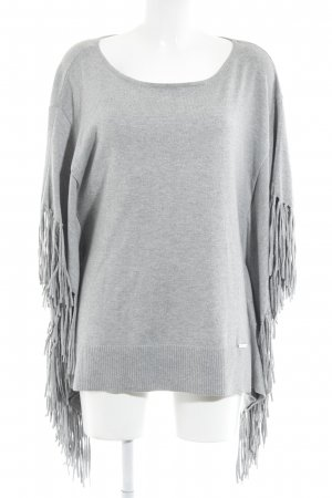 Michael Kors Poncho lichtgrijs casual uitstraling