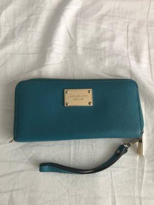 Michael Kors Wallet cadet blue-gold-colored
