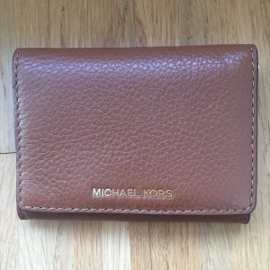 Michael Kors Wallet cognac-coloured-gold-colored