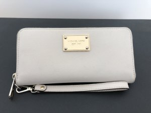 Michael Kors Wallet natural white-gold-colored leather