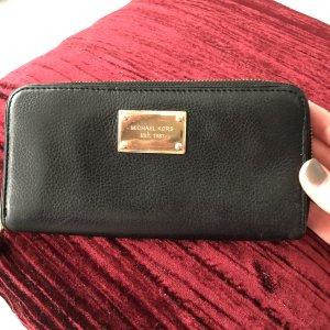 Michael Kors Wallet black-gold-colored