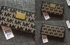 Michael Kors Wallet black-nude
