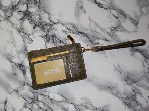 Michael Kors Card Case green grey-petrol