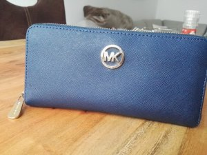 Michael Kors Wallet dark blue leather