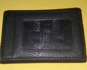 Michael Kors Pochette black leather