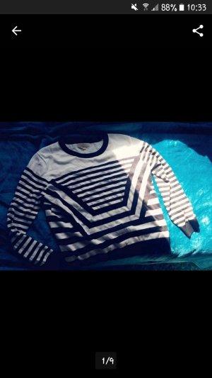 Michael Kors Pullover blau weiß gestreift