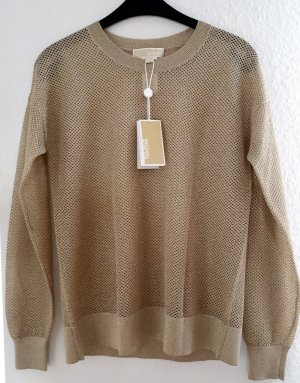 Michael Kors Pullover Farbe Gold/Khaki Gr. S NEU