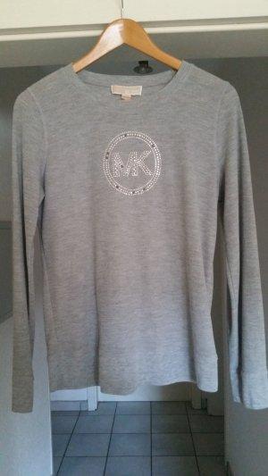 Michael Kors Kraagloze sweater lichtgrijs