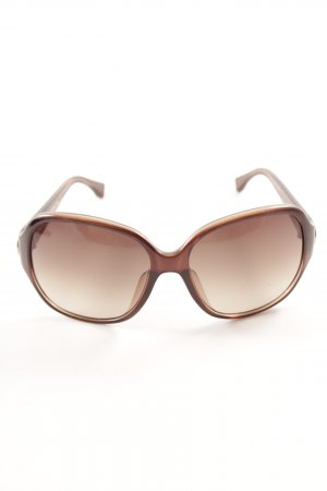 Michael Kors Retro Brille dunkelbraun Casual-Look