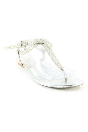 Michael Kors Riemchen-Sandalen silberfarben Elegant