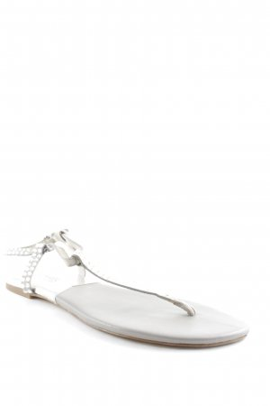 Michael Kors Strapped Sandals silver-colored-light grey beach look