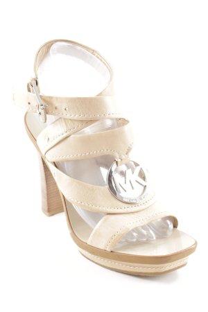 Michael Kors Riemchen-Sandaletten creme-beige Casual-Look