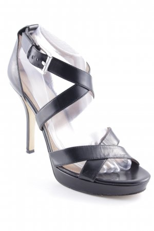 Michael Kors Strapped High-Heeled Sandals black elegant