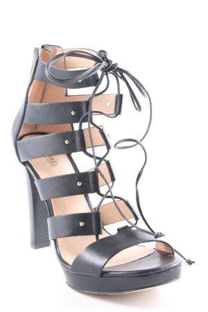 Michael Kors Riemchen-Sandaletten schwarz schlichter Stil