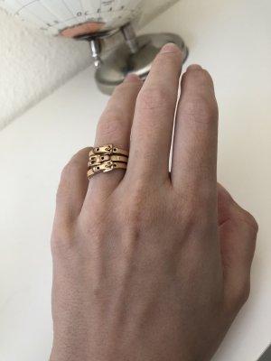 Michael Kors Gold Ring rose-gold-coloured stainless steel