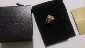 Michael Kors Ring Gold Funkelnd mit Box und Beutel Gr. 7