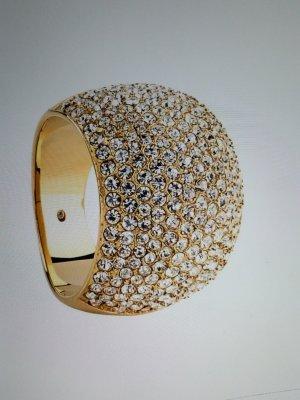 Michael Kors Ring Goldfarbig mit strasssteinchen