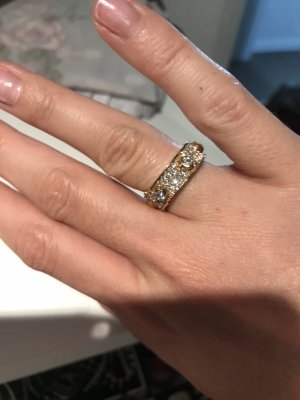Michael Kors Silver Ring gold-colored