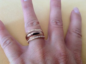 Michael Kors Ring in rosegold