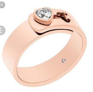 Michael Kors Ring Rose Gold Herz